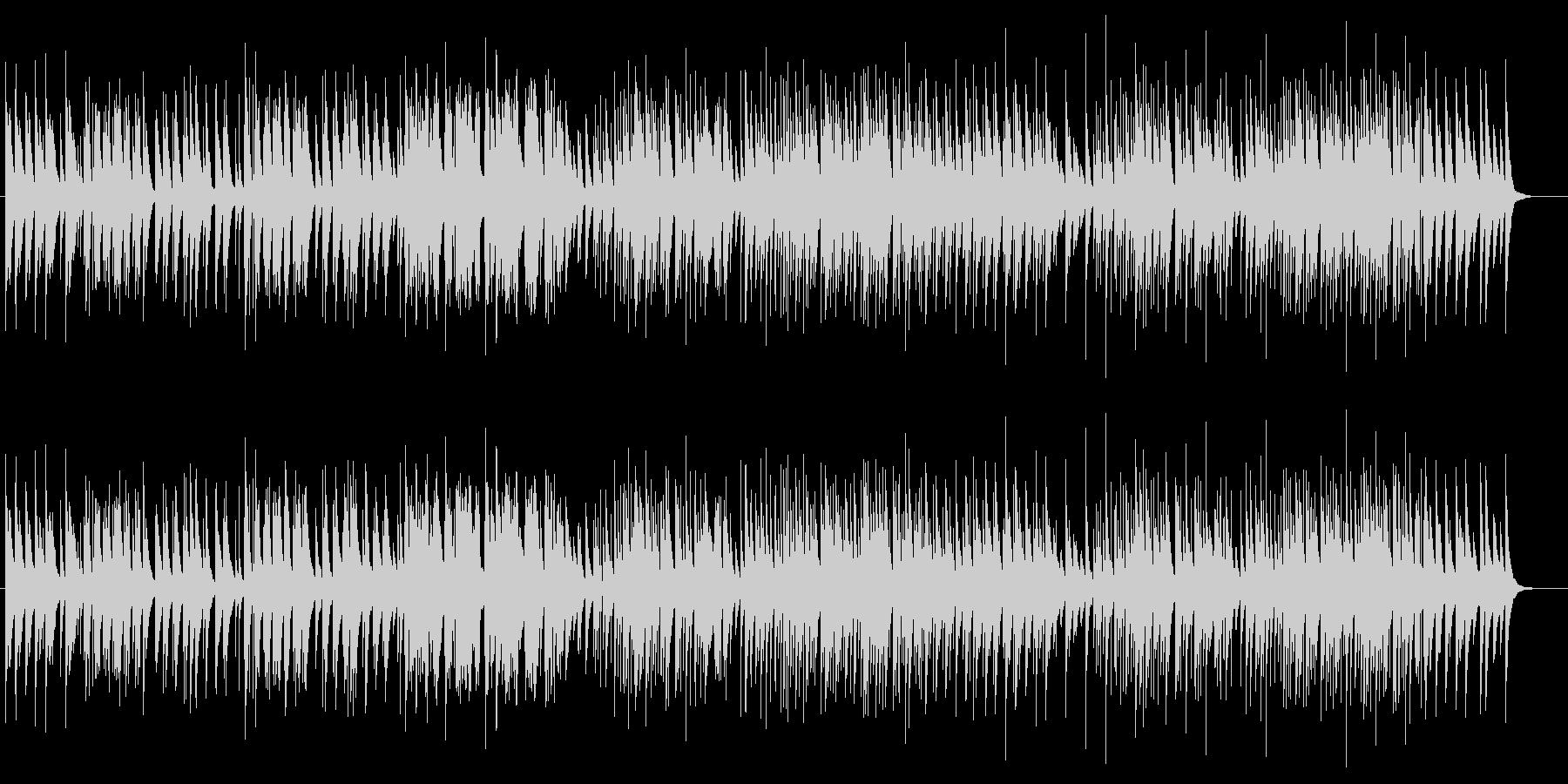 ホスピタリティなやさしいオルゴール80の未再生の波形
