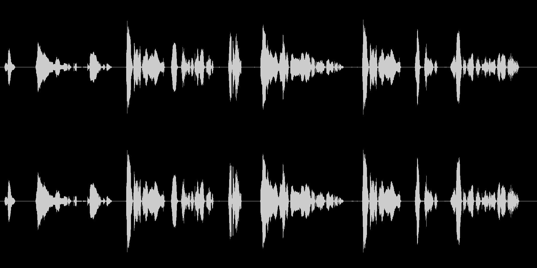 魔人系のセリフ1.2.3をまとめてあり…の未再生の波形