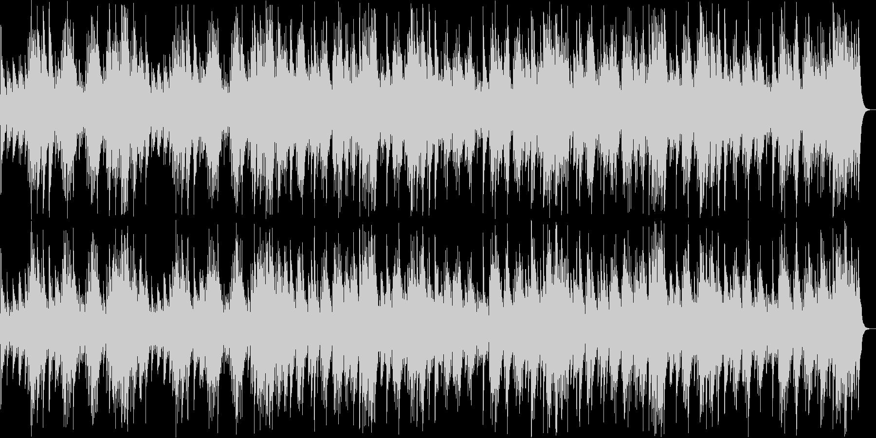 G線上のアリア/バッハ(オルゴール)の未再生の波形
