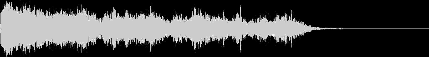 リアルな魔法の詠唱音、発動音、効果音。の未再生の波形