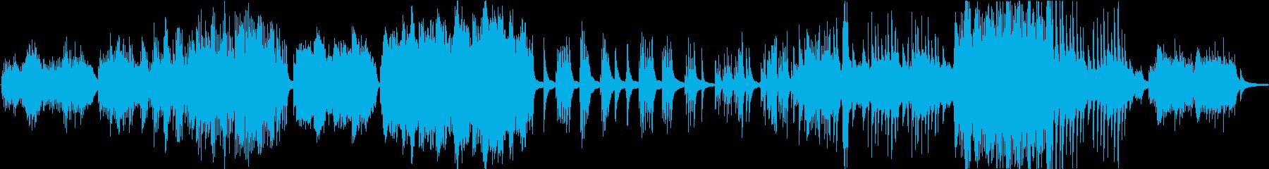 ピアノソロ。ピアノバー、キッチュな...の再生済みの波形