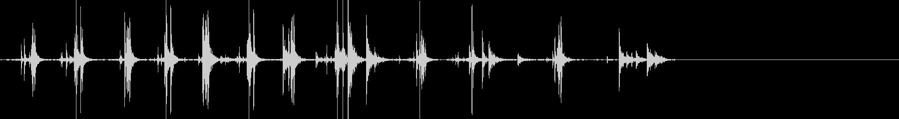 ライフルコックアンドエンプティブレ...の未再生の波形