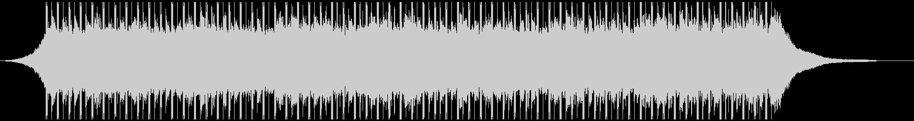 コーポレートアップビート(40秒)の未再生の波形