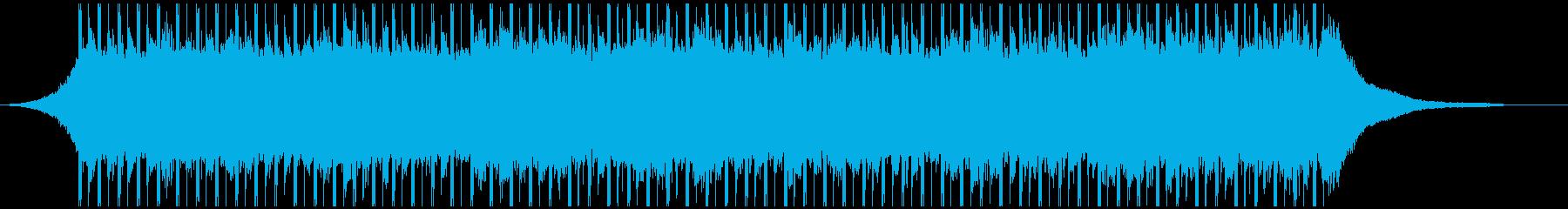 コーポレートアップビート(40秒)の再生済みの波形