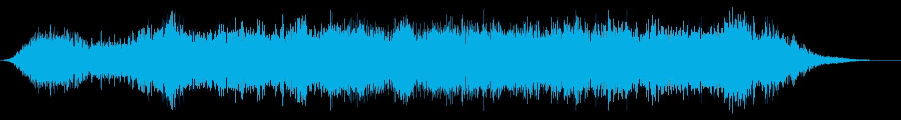 ストリングスの再生済みの波形