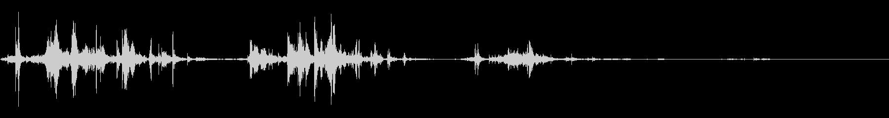 闘争音の戦い:グラブ、スカッフリン...の未再生の波形