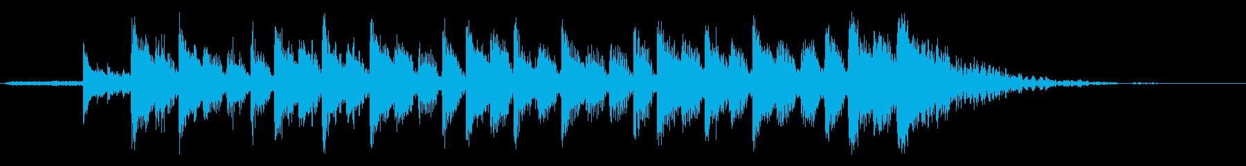 究極の目標ALT。混合の再生済みの波形