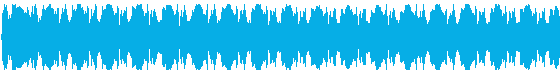 しつこいサイレンの再生済みの波形