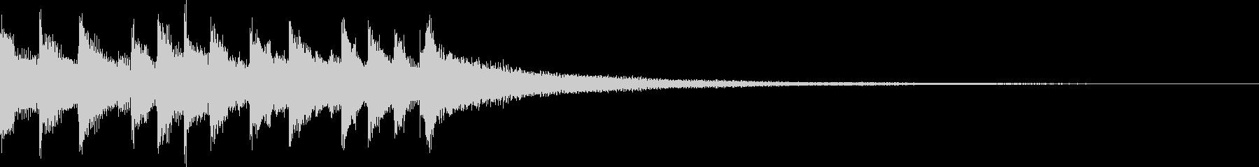 キャッチーEDM・ADMジングル4の未再生の波形