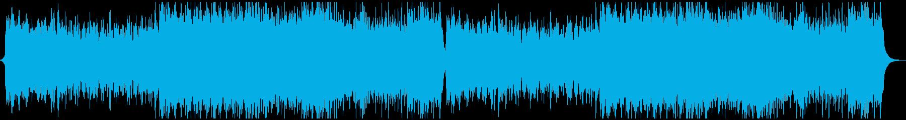 中世の壮大なオーケストラの再生済みの波形