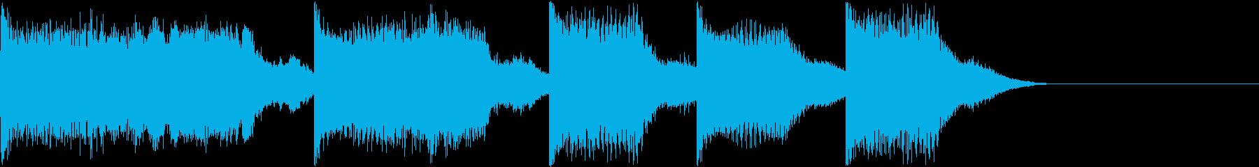AI メカ/ロボ/マシン動作音 10の再生済みの波形