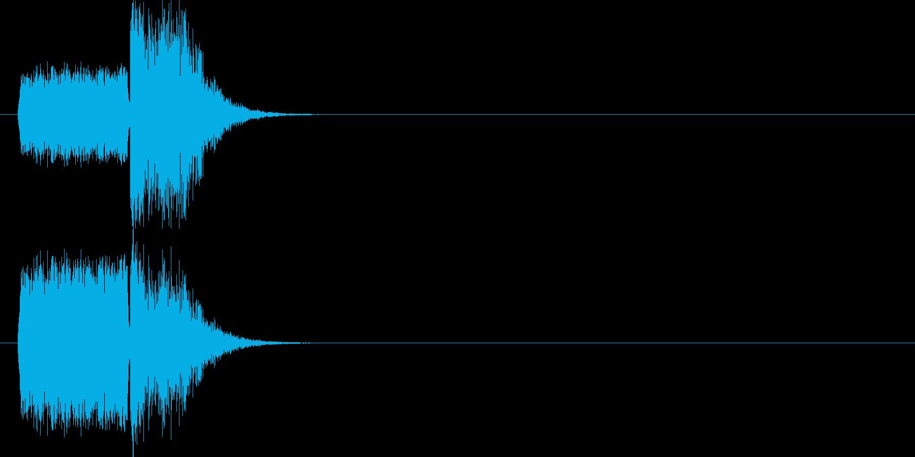 場面 スリップ+衝突の再生済みの波形