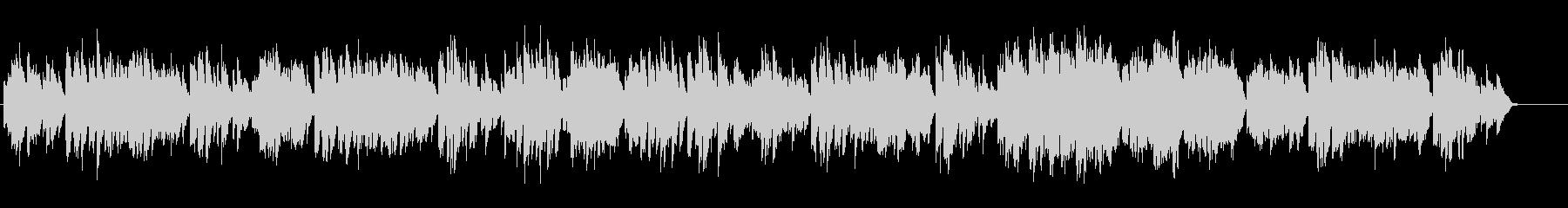 バッハ/暗いメヌエットをヴァイオリンでの未再生の波形