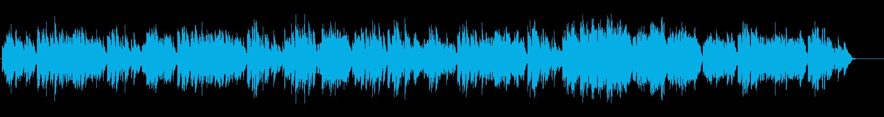 バッハ/暗いメヌエットをヴァイオリンでの再生済みの波形