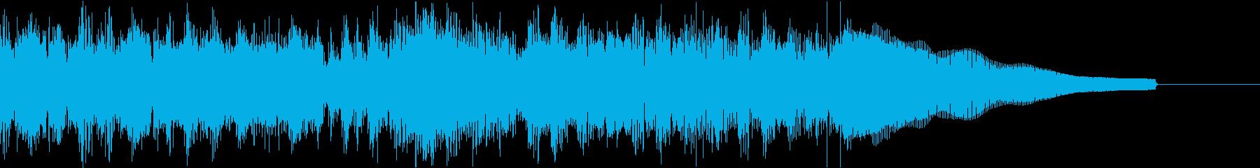 カントリー風ギターイントロ−07Gの再生済みの波形