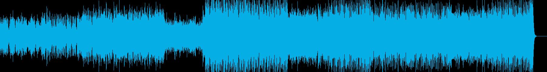 透き通ったイメージの曲です。の再生済みの波形