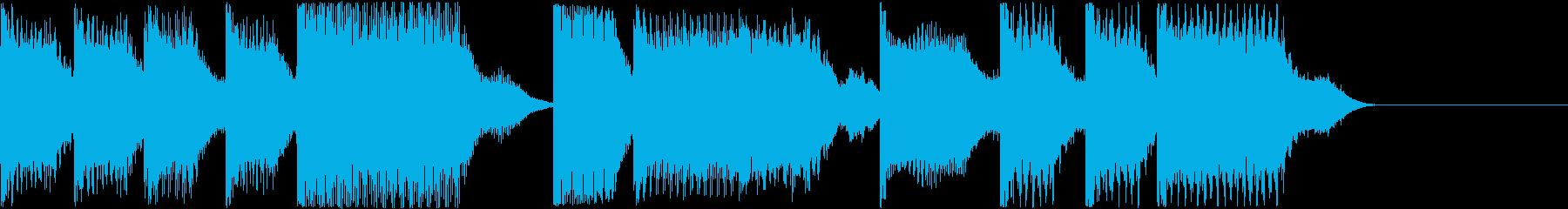 AI メカ/ロボ/マシン動作音 17の再生済みの波形