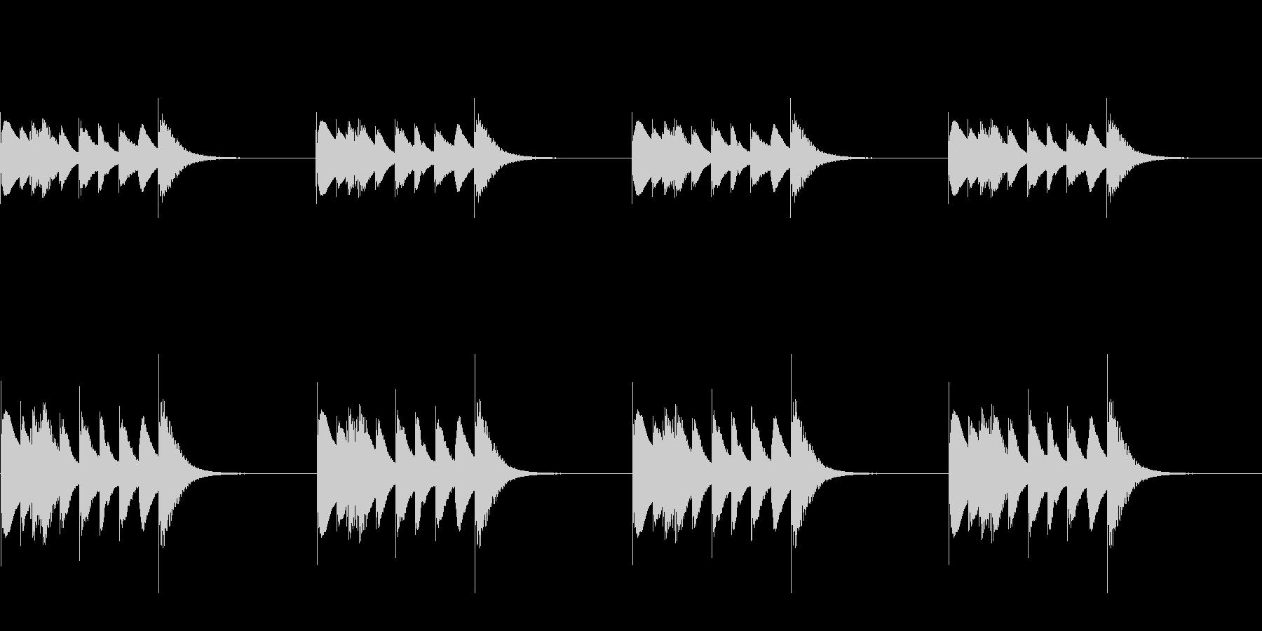 よく聴く着信音のパロディ_01_STの未再生の波形