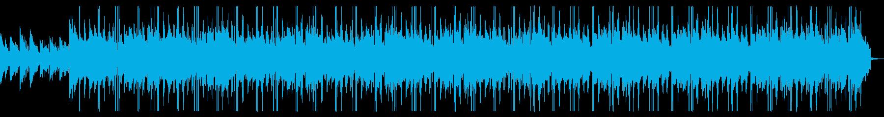 泣きたい夜に聴きたいビブラフォンBGMの再生済みの波形