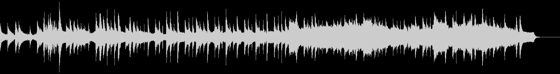 ストリングスとピアノによる、けだるいボサの未再生の波形