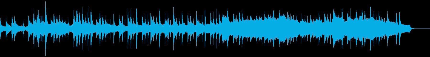 ストリングスとピアノによる、けだるいボサの再生済みの波形