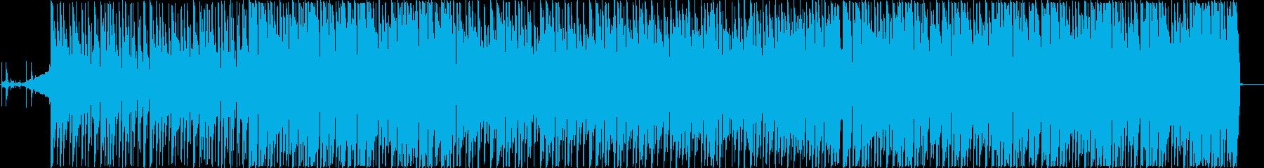 4つ打ち HAPPYなボーイズK-POPの再生済みの波形