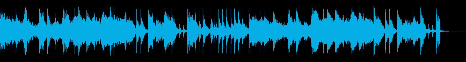 ドラムに疾走感のあるミドルテンポのロックの再生済みの波形