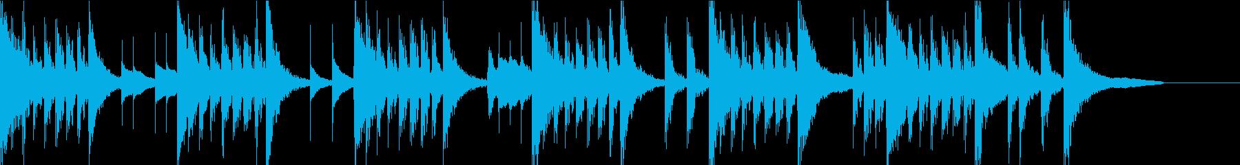 森ほのぼのかわいい・マリンバ/ジングル3の再生済みの波形