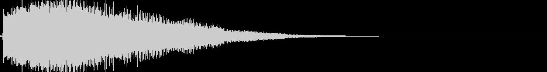 アンビエントなエレピ#2・サウンドロゴ等の未再生の波形