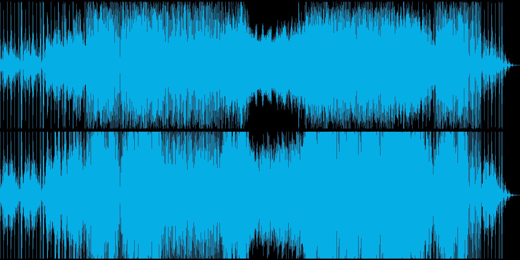 晴天の朝、アンビエントテクノEDMの再生済みの波形