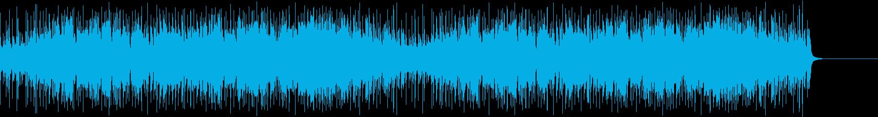 明るい音色のブラスのジングルの再生済みの波形