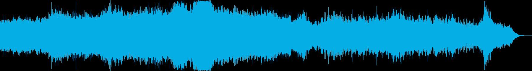 宇宙・深海・深層/サウンドスケープの再生済みの波形