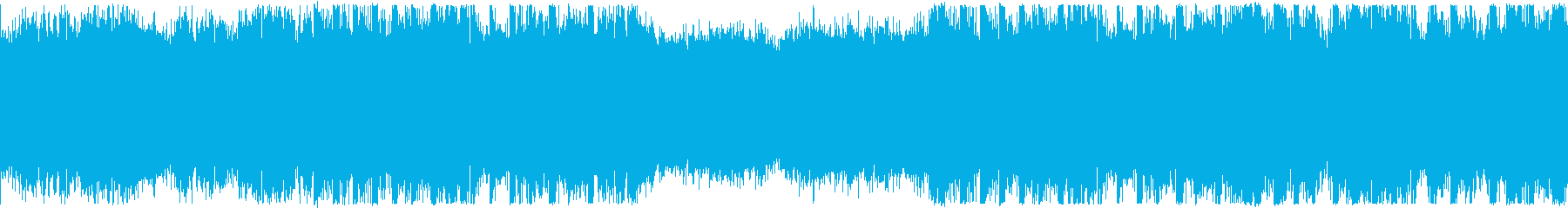 ループ・映像・おしゃれなEDMの再生済みの波形