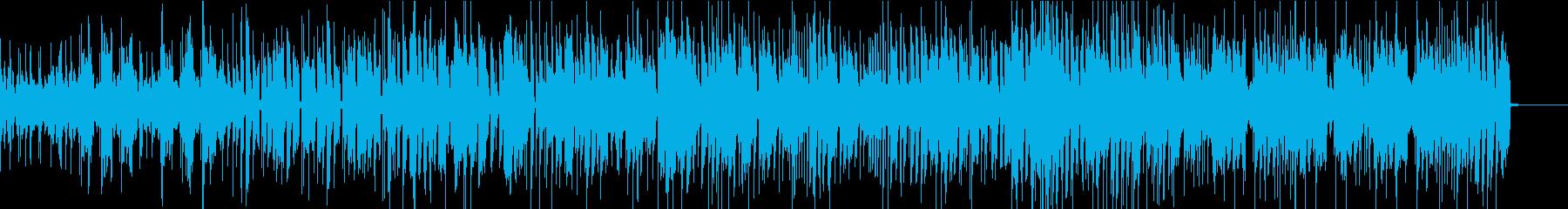 オルガンとピアノが交錯するポップなジャズの再生済みの波形