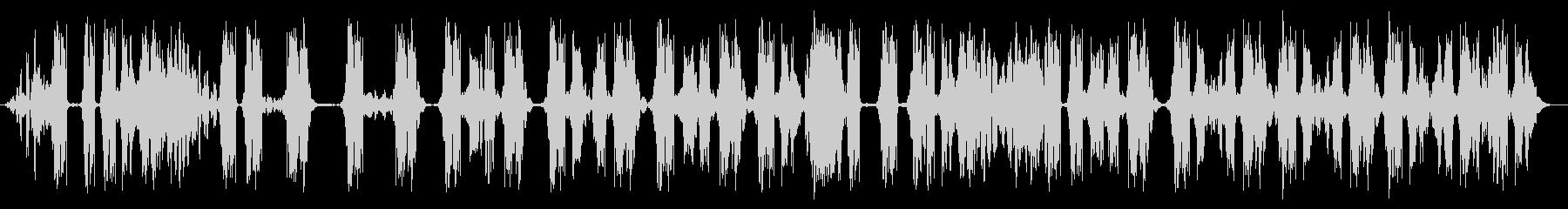 ワッキーテープスクラビング3の未再生の波形