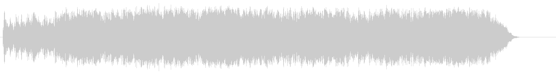 重厚なマイナードキュメント/オーケストラの未再生の波形
