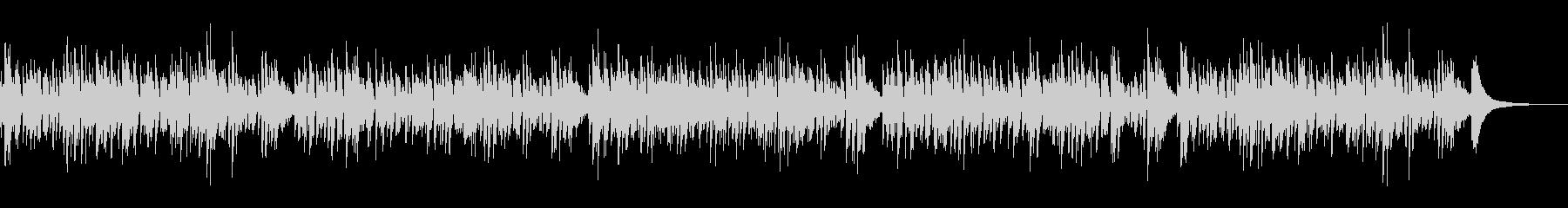 おしゃれ系アコースティックギターボサノバ 2の未再生の波形