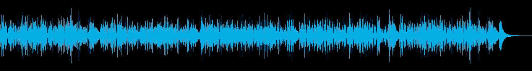 おしゃれ系アコースティックギターボサノバ 2の再生済みの波形