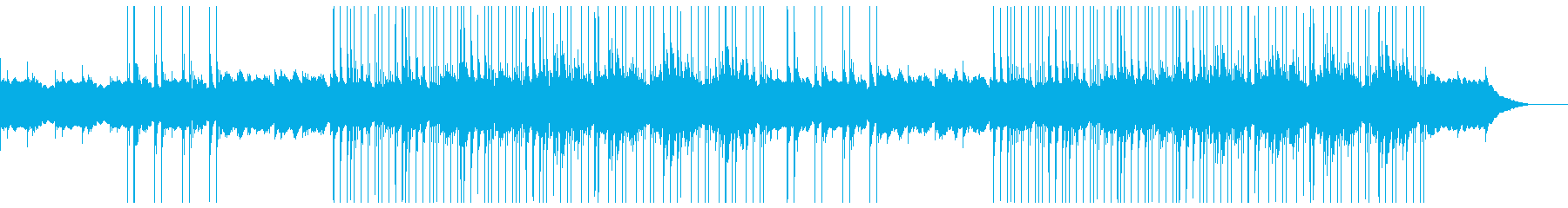 切ない ポップ トラップ リズム抜きの再生済みの波形
