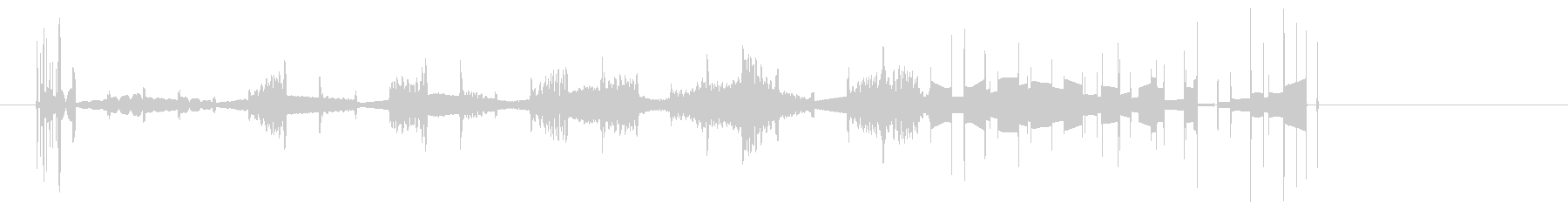 電波干渉、ショート、クラックルの未再生の波形