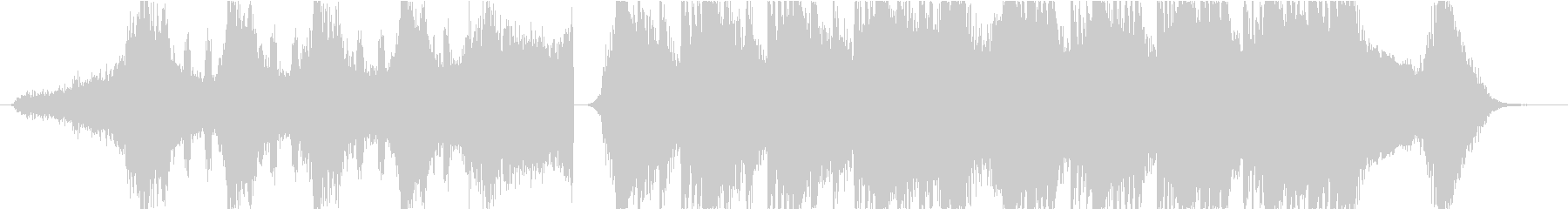 Horror Musicの未再生の波形