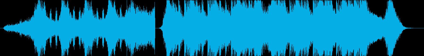 Horror Musicの再生済みの波形
