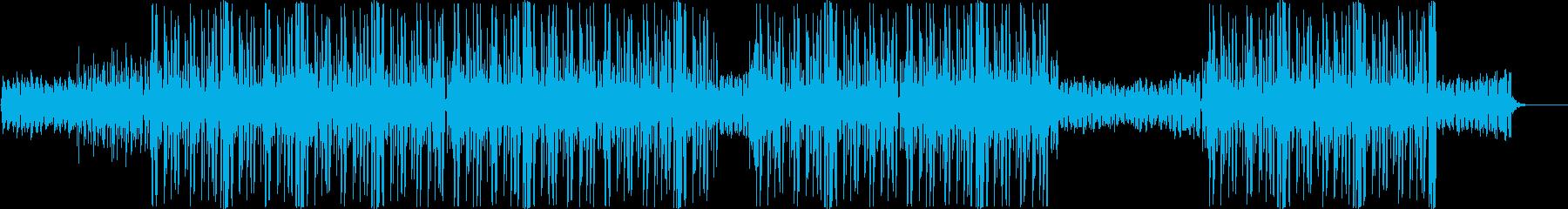 ローファイ、ヒップホップ、チルアウト♪の再生済みの波形