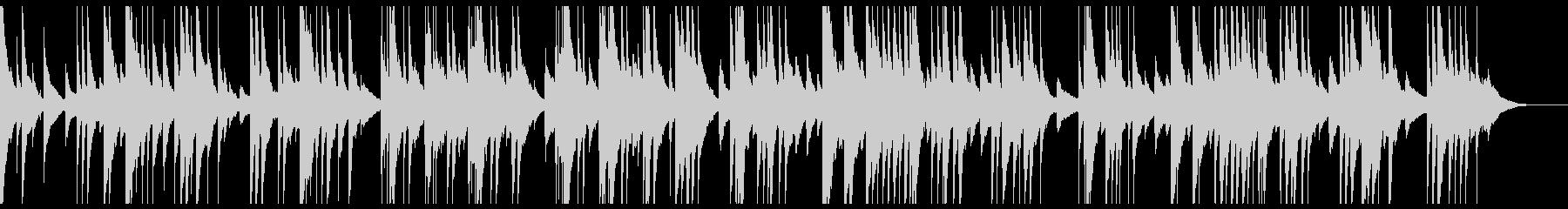 オルゴールで感動的・切ないバラードの未再生の波形