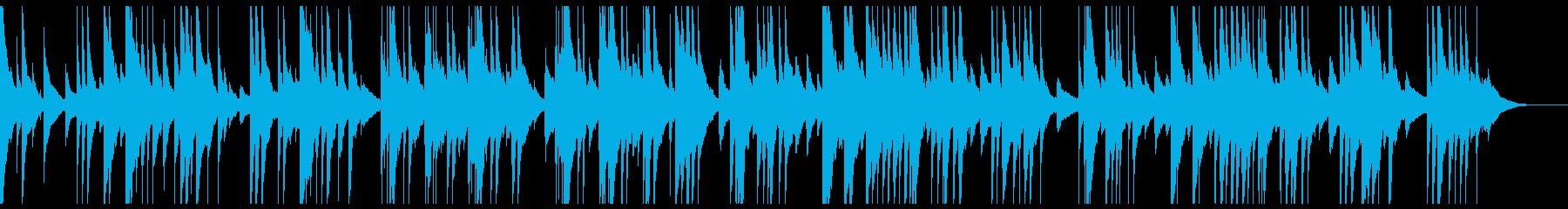 オルゴールで感動的・切ないバラードの再生済みの波形