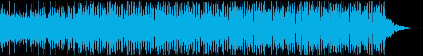 かっこいいEDMの再生済みの波形