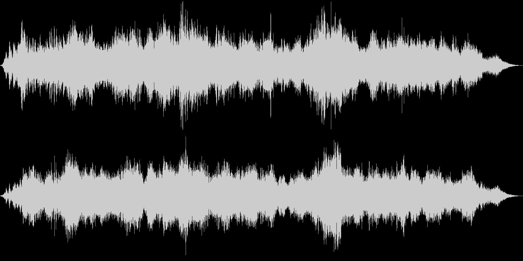 ドローン ホラーサイレン01の未再生の波形