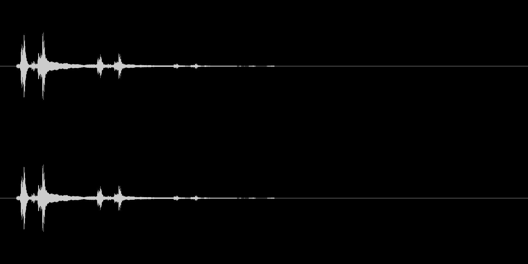 【レジ ドロワー01-3】の未再生の波形