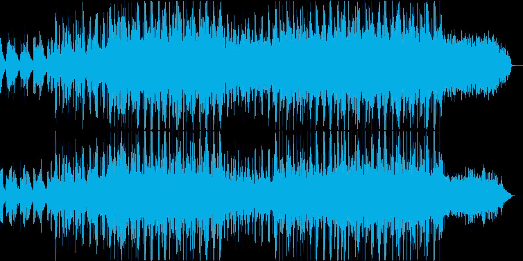 メロディアスなシンセミュージック、劇的なの再生済みの波形