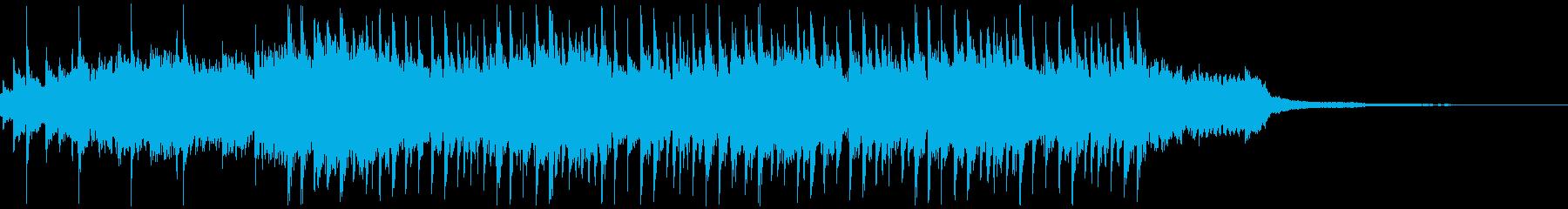 ハウスミュージック1(30秒 SNS)の再生済みの波形